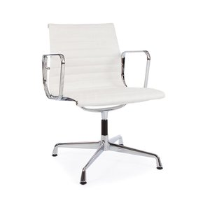 EA108 Conference office chair Leather white
