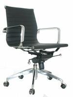 EA117 Comfort Bureaustoel Leer Wit