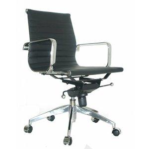 EA117 Comfort Leer Bureaustoel