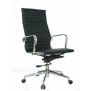 EA119 Budget Sky leather Office chair