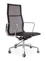 EA119 Eames Bureaustoel Mesh Zwart