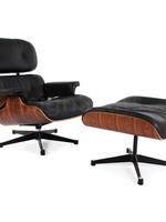 Eames Lounge Chair Rosewoord Black