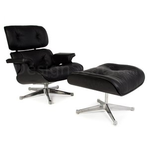 Eames Lounge Chair Special Edition Black