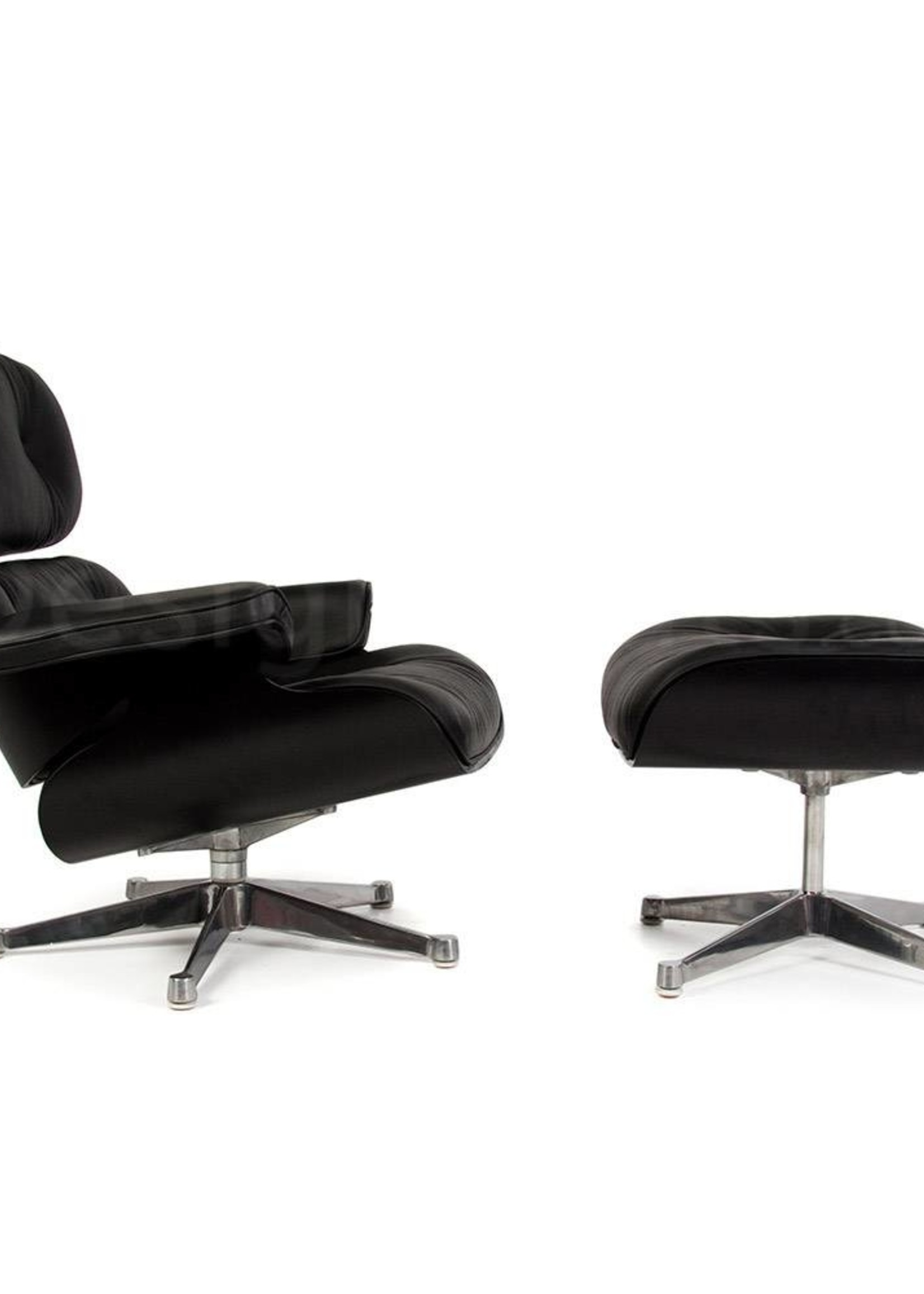 Eames Lounge Chair Special Edition Zwart