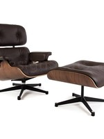 Eames Lounge Chair Walnut Bruin
