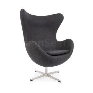 Egg chair Grijs Cashmere