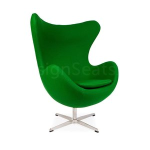 Egg chair Green Cashmere