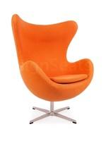 Egg chair Cashmere Oranje