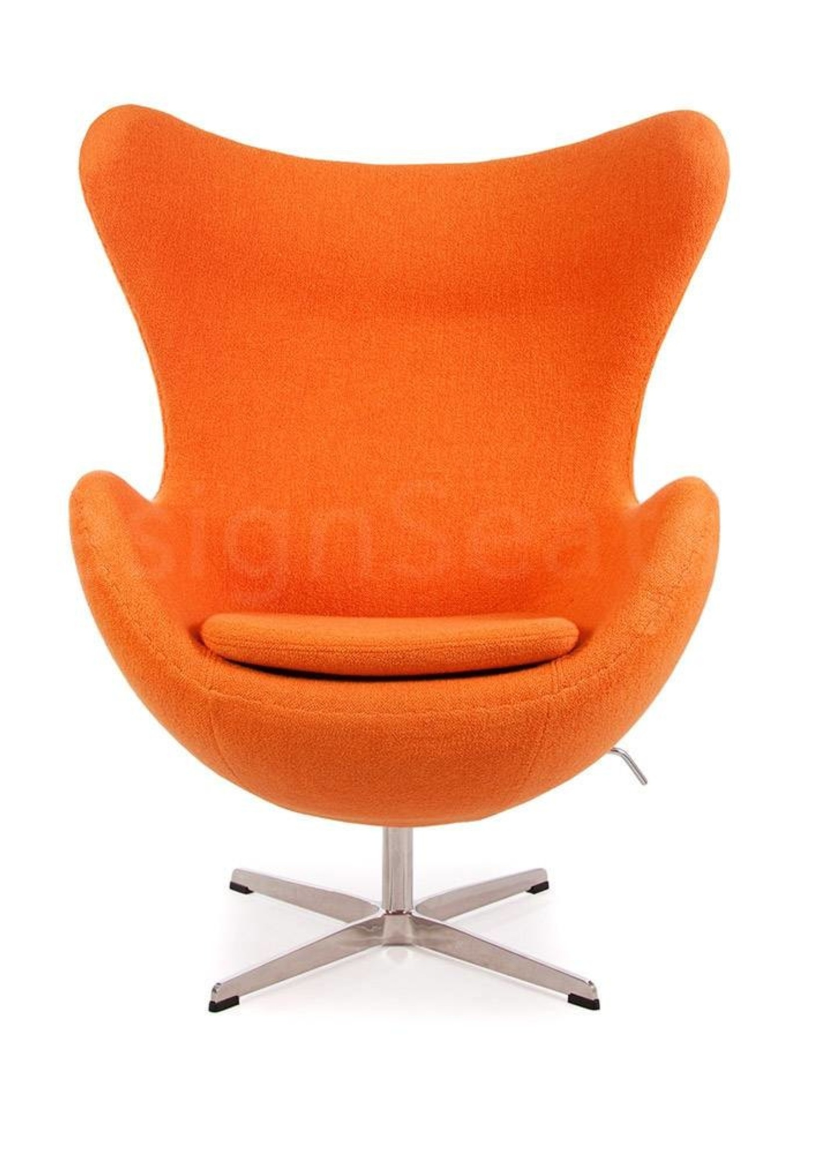 Egg chair Oranje Cashmere