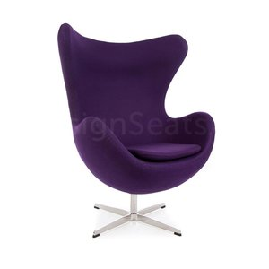 Egg chair Purple Cashmere