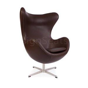 Egg chair Bruin Leer