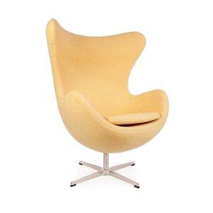 Egg chair Geel Wool
