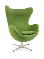 Egg chair Olivegreen Wool