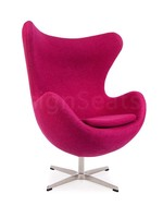 Egg chair Wol Roze