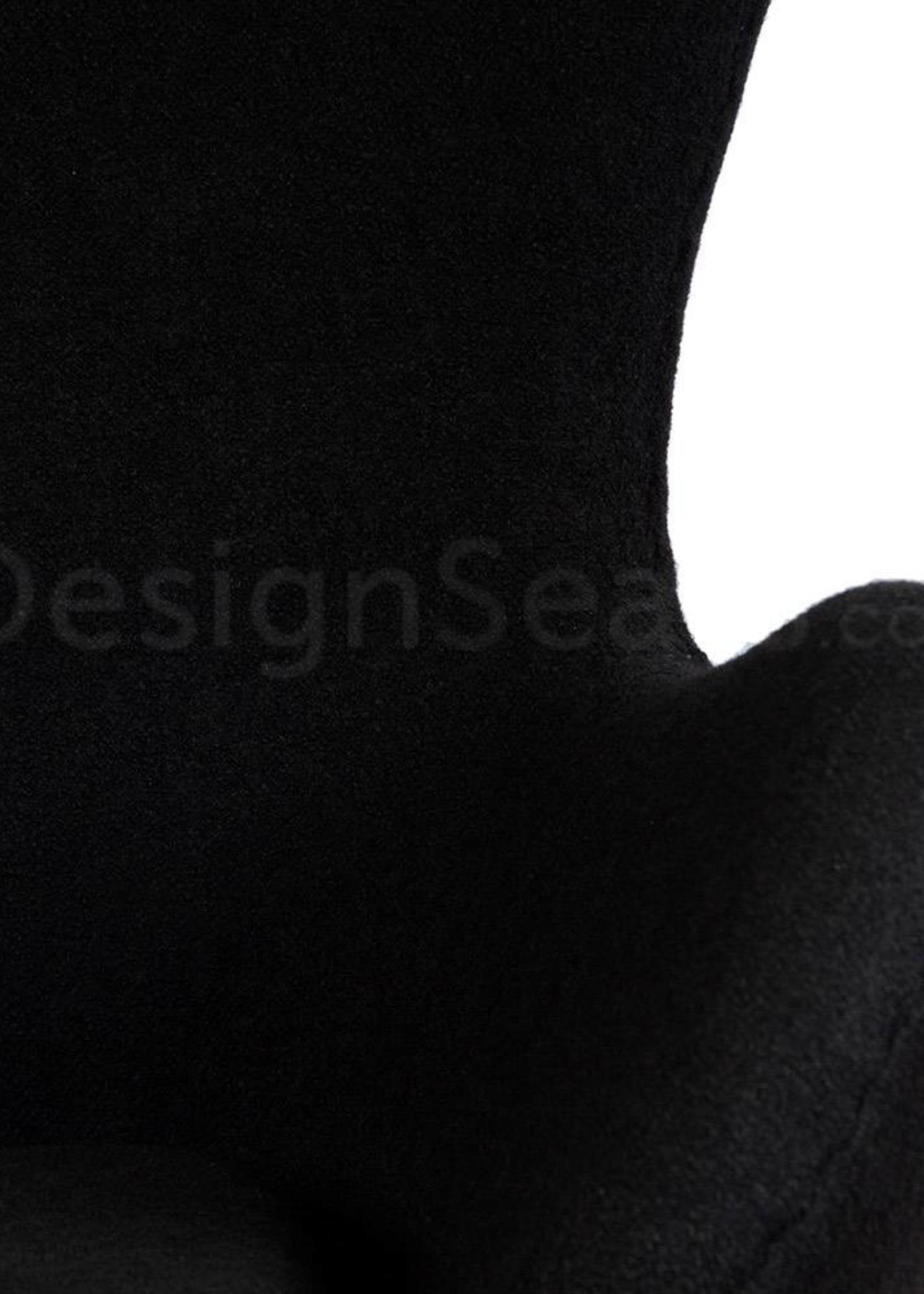 Egg chair Zwart Wool