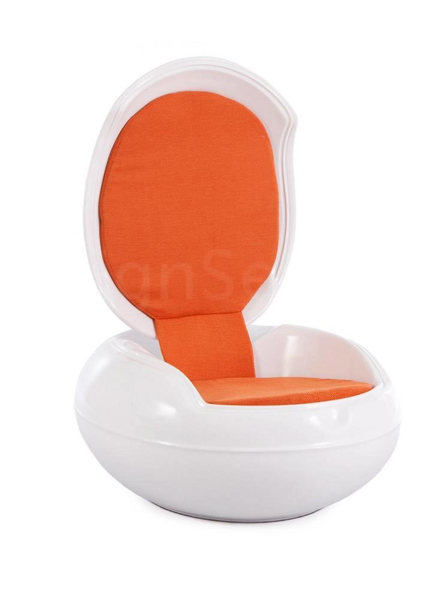 Garden Egg Wit-oranje