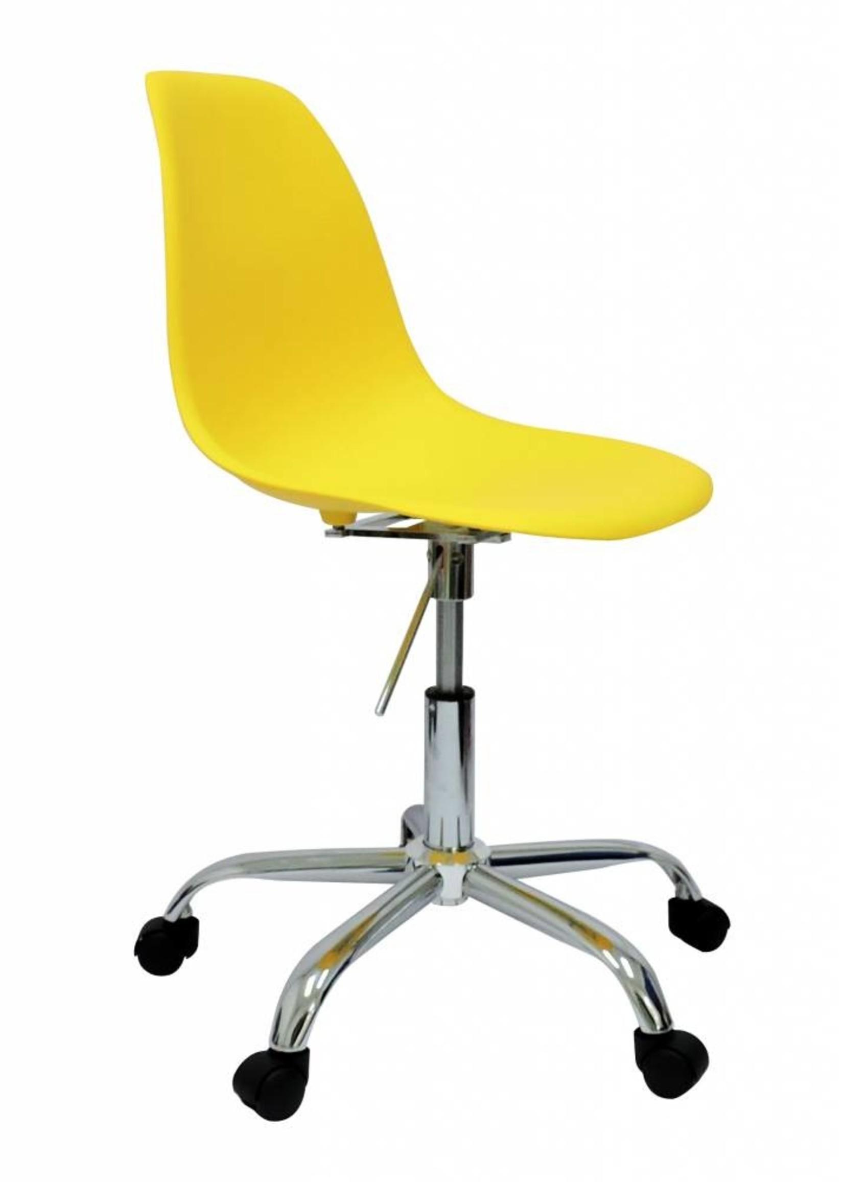PSCC Eames Design Chair Yellow