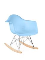 RAR Kinder Schommelstoel Pastel baby blauw