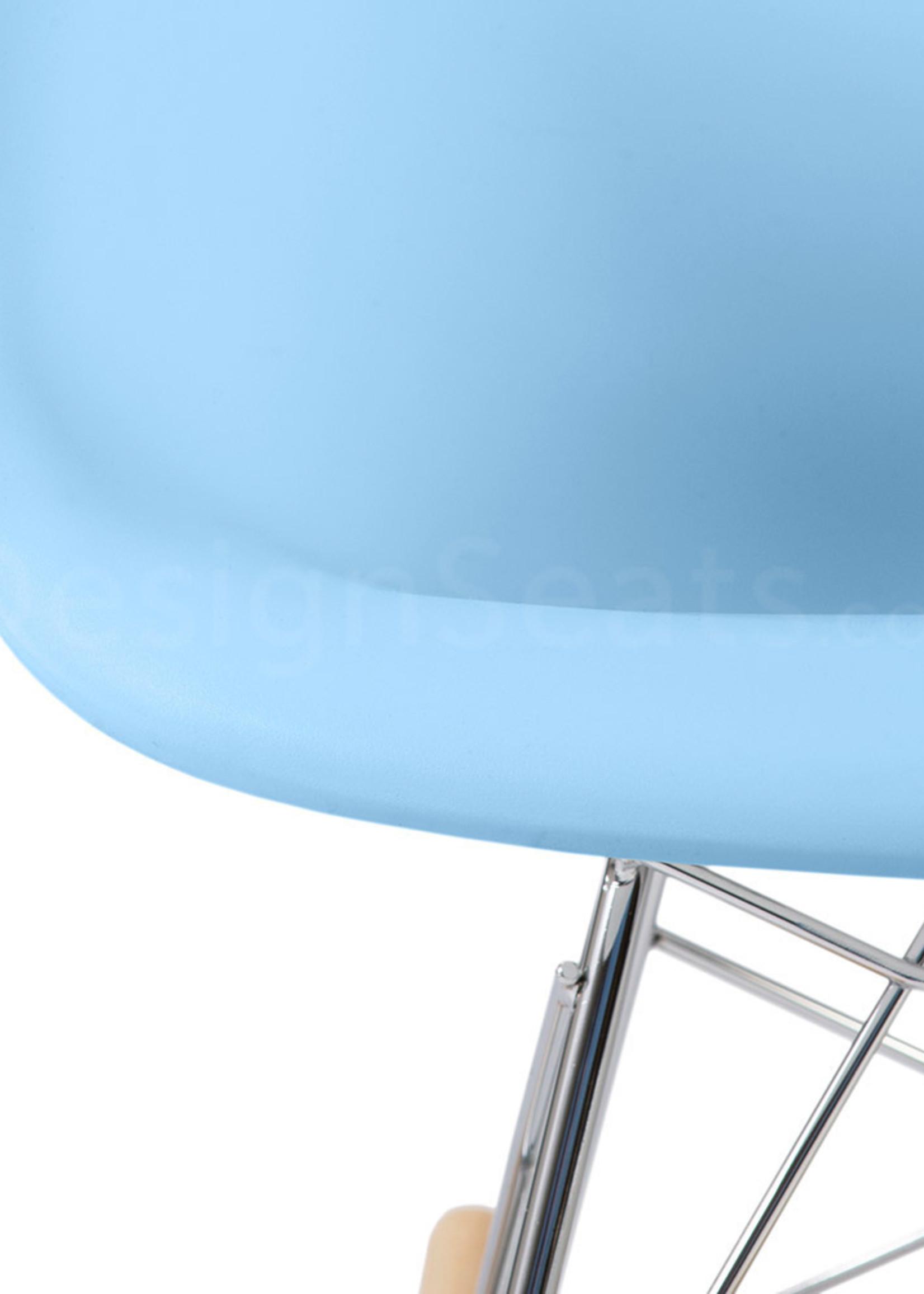 RAR Eames Kids Rocking chair Pastel baby blue