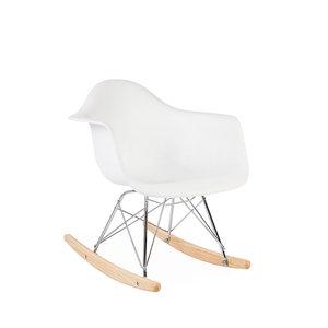 RAR Eames Kids Rocking chair White