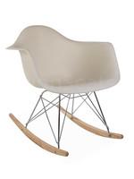 RAR Eames Rocking Chair Off white