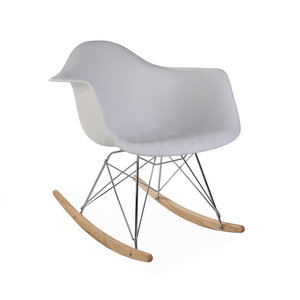 Super Rar Eames Design Rocking Chair White Mrs Beautiful Andrewgaddart Wooden Chair Designs For Living Room Andrewgaddartcom