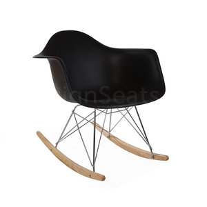 RAR Eames Rocking Chair Black