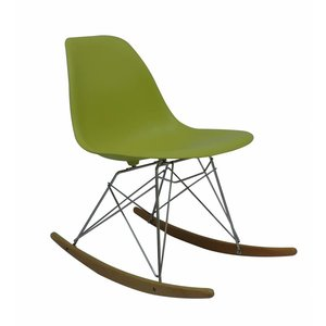 RSR Eames Design Schommelstoel Groen