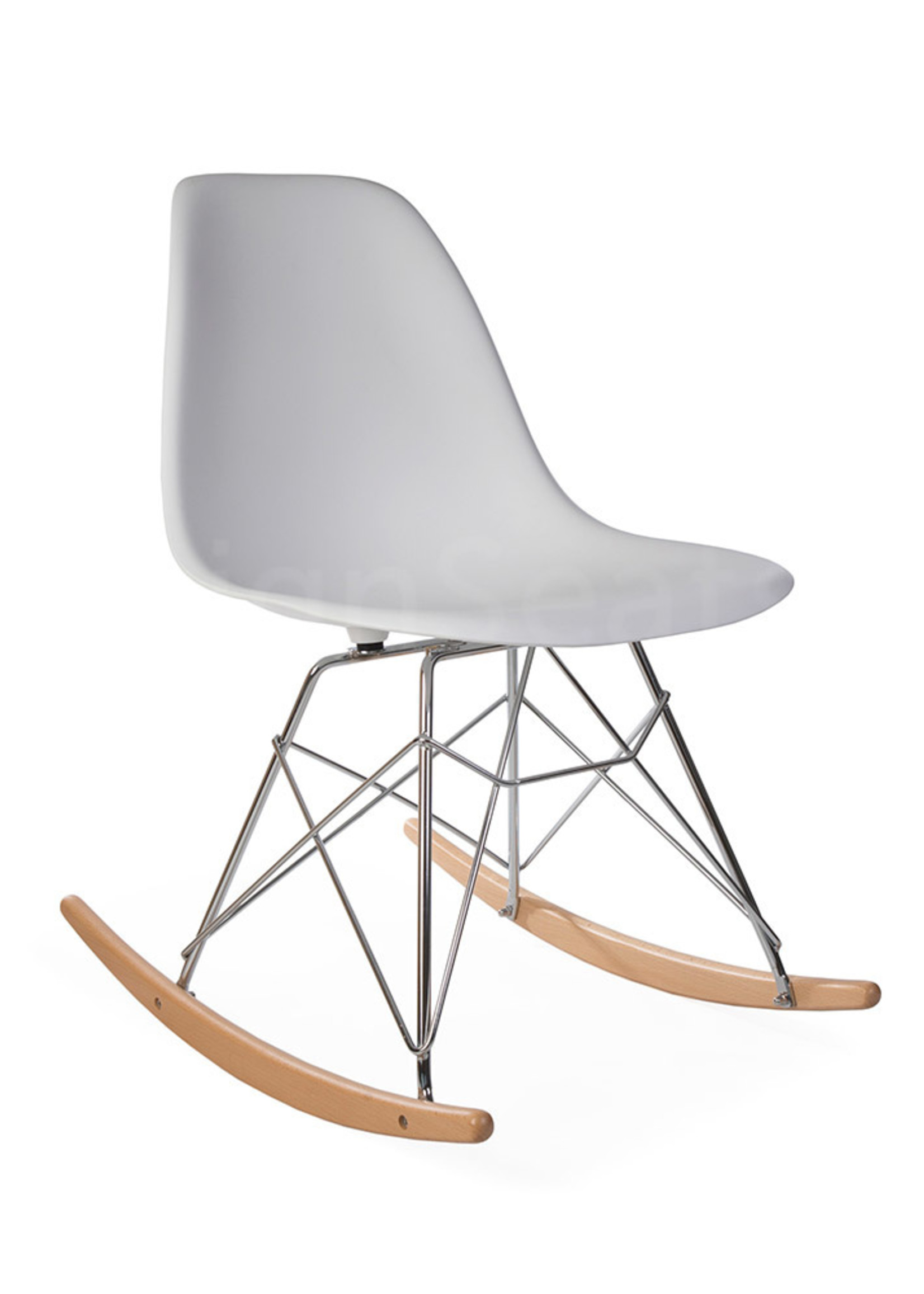 RSR Eames Rocking Chair White