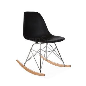 RSR Eames Schommelstoel Zwart