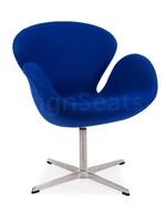 Swan chair Cashmere Blauw