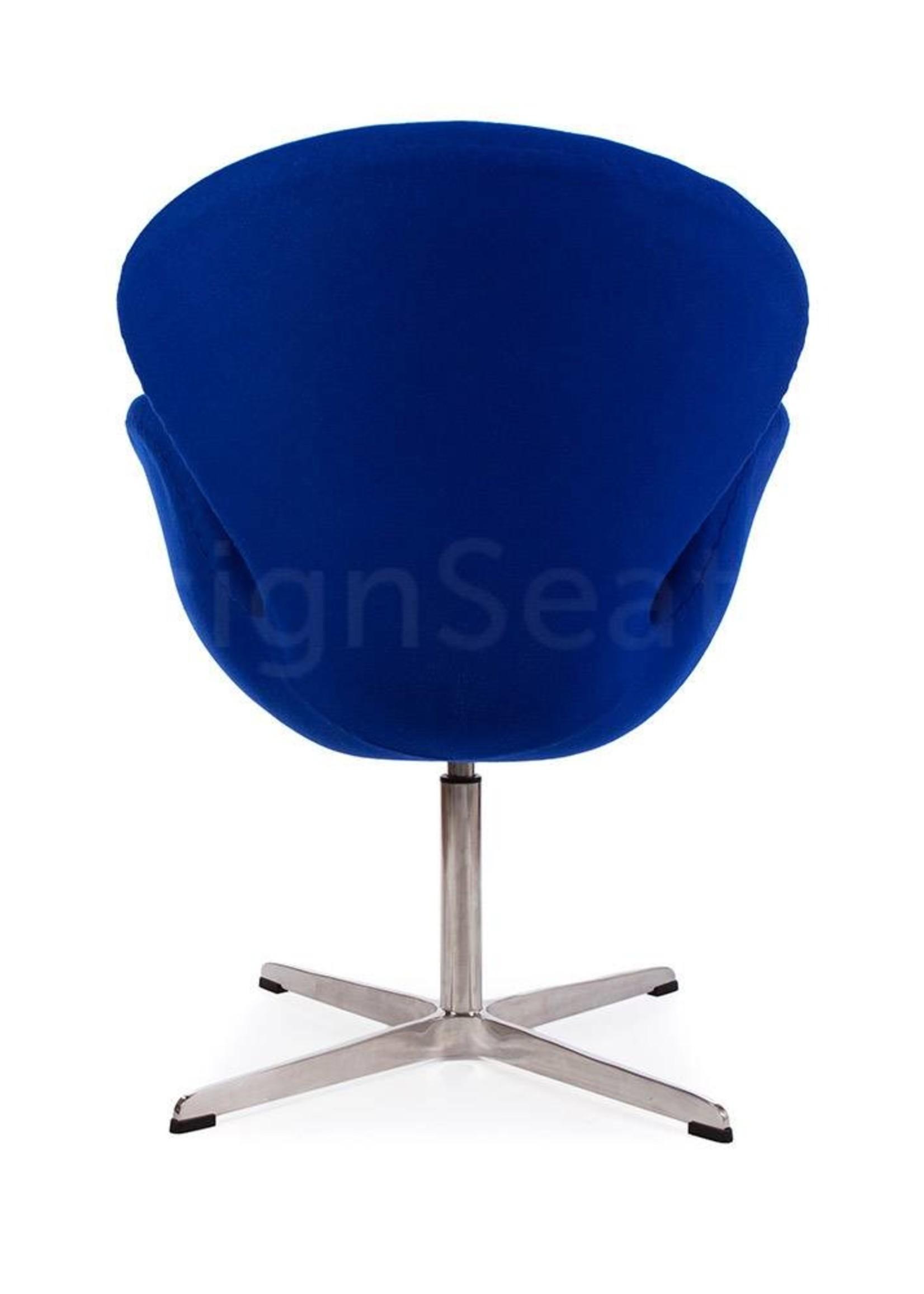 Swan chair Blauw Cashmere
