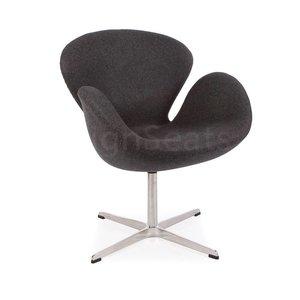 Swan chair Grey Cashmere