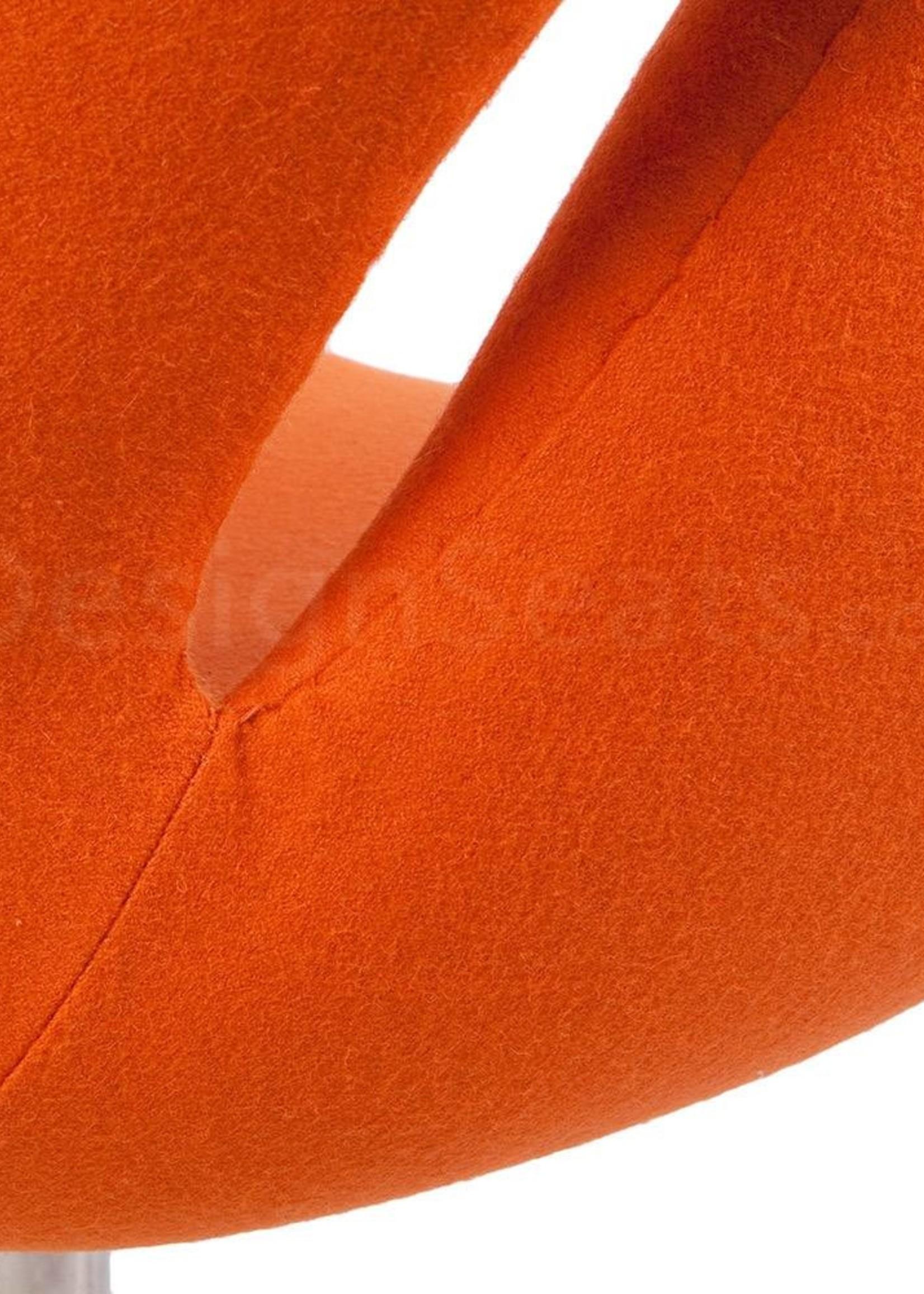 Swan chair Oranje Cashmere