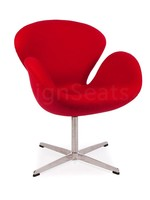Swan chair Cashmere Rood