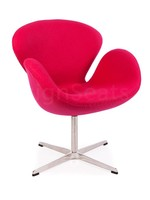 Swan chair Cashmere Roze