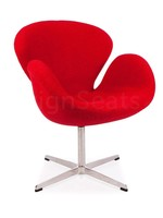 Swan chair Wol Rood