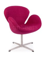Swan chair Wol Roze