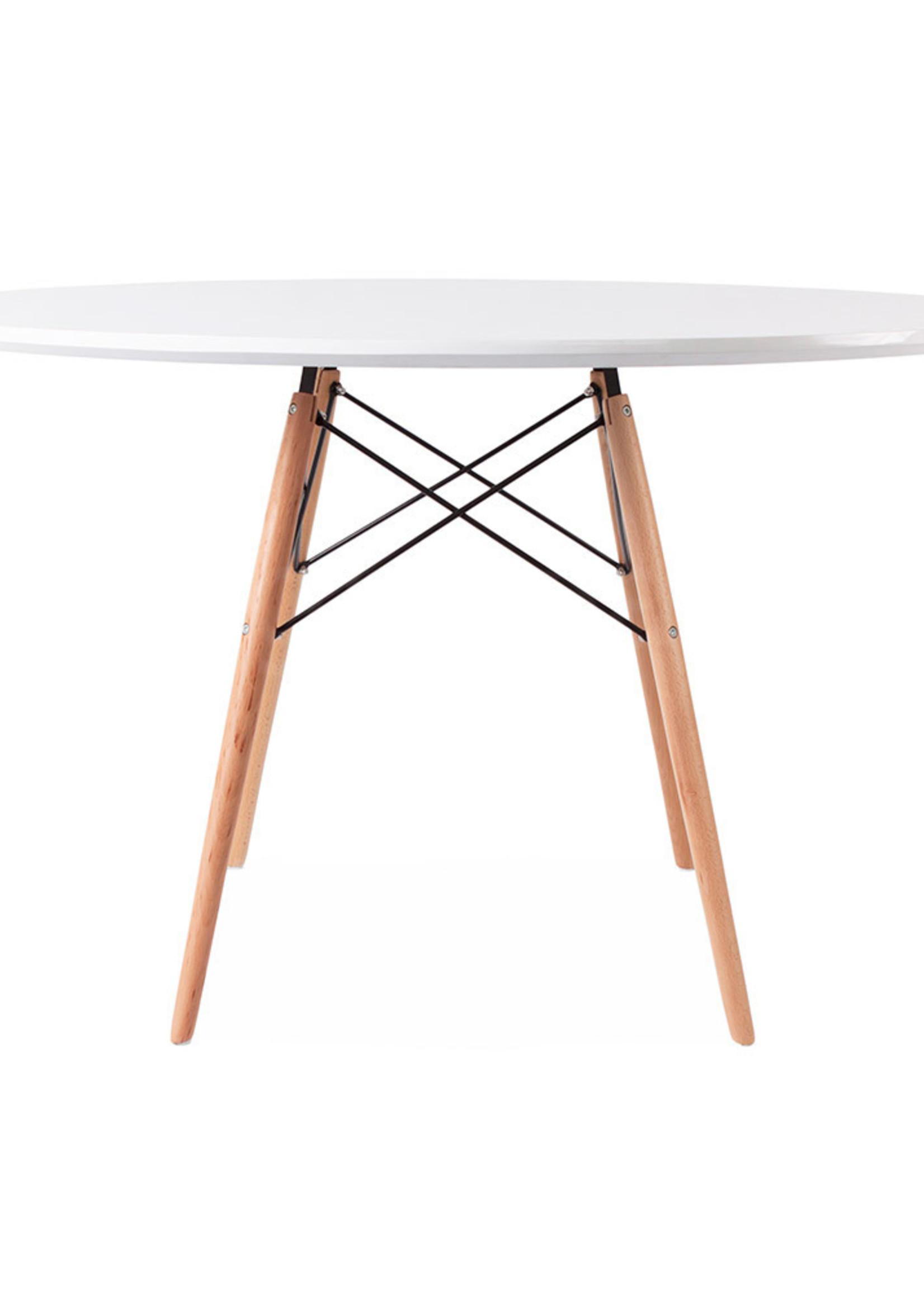 WDW Eames tables White
