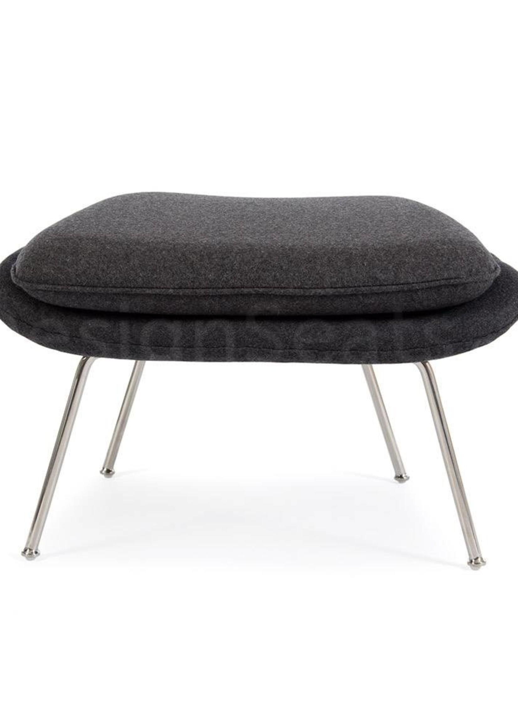 Womb chair Grijs