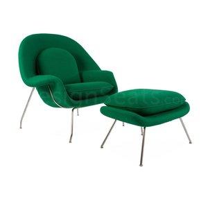 Womb chair Groen