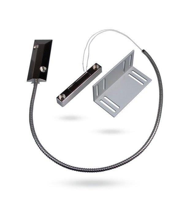 Jablotron Oasis bekabeld vloer magneetcontact voor een garagedeur.