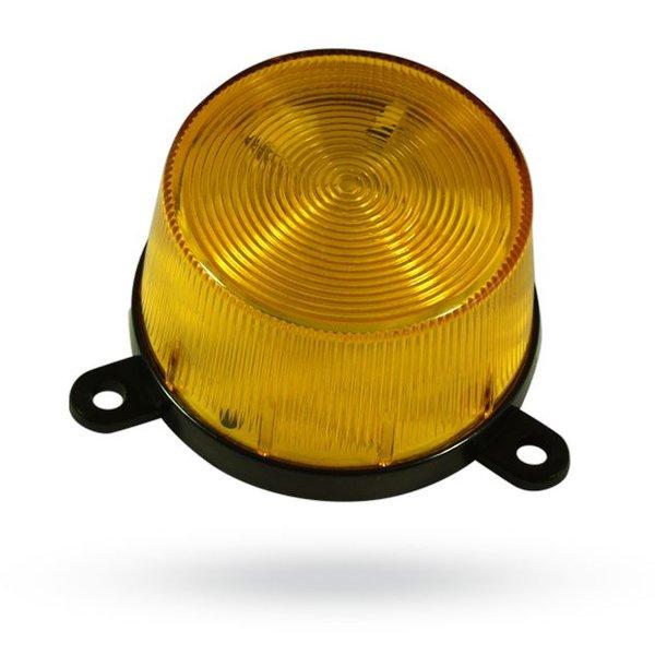 Bekabelde oranje flitslamp TK34