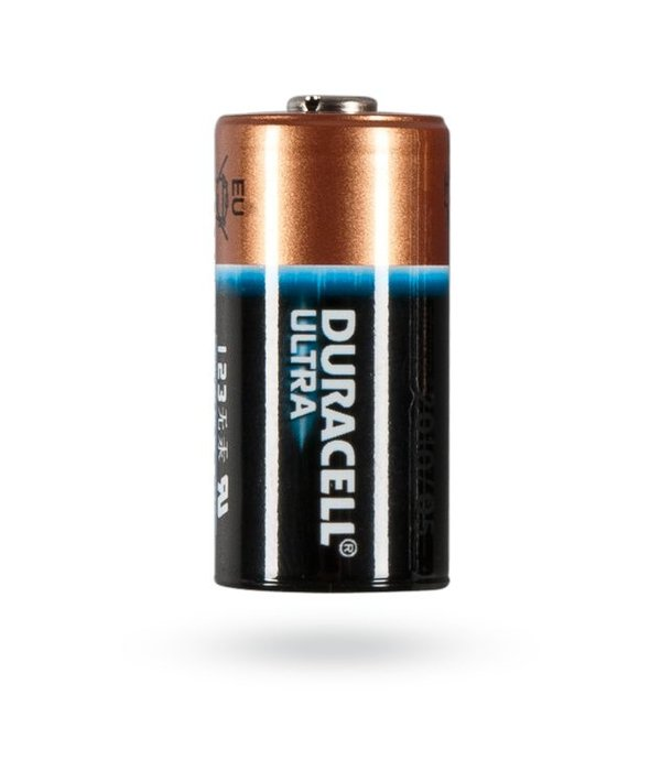 Jablotron Lithium batterij voor draadloze sensoren (2 stuks) model Duracel CR123