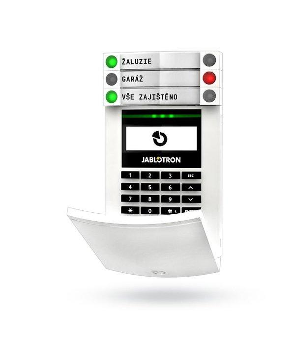 Jablotron JA154E draadloos bedieningspaneel met display.