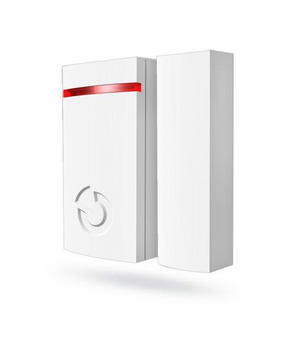 Jablotron 100 magneetcontact BUS bekabeld aangesloten