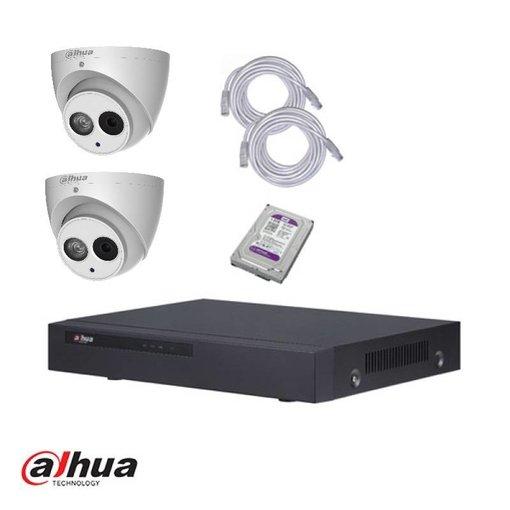 Dahua IP camerasysteem set 4 megapixel en 1TB HDD