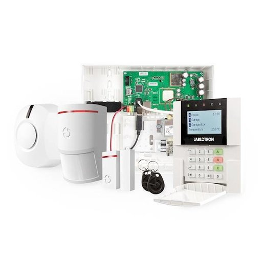 Jablotron 100 alarmsysteem basisset.