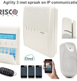 Risco Agility 3 kit draadloos alarmsysteem met IP en APP