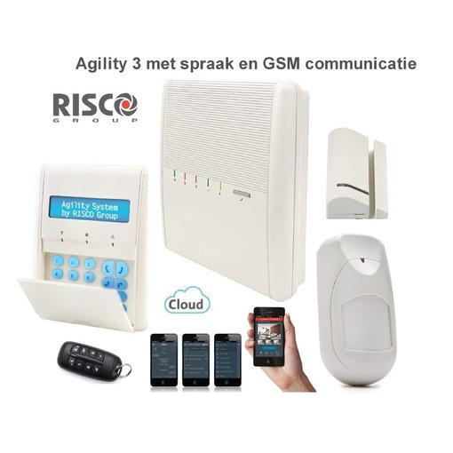 Risco Agility 3 alarmsysteem GSM